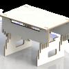 seisomatyöpiste ergonomia, seisomatyöpiste mökille, seisomatyöpiste kotiin