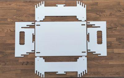 seisomatyöpiste mökille, seisomatyöpiste ergonomia, seinomatyöpiste kotiin